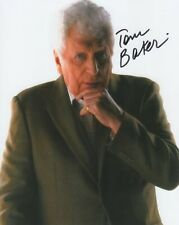 More details for doctor who autograph: tom baker (the curator) signed photo