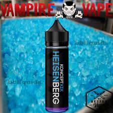NEW 60ml - Vampire Vape - HEISENBERG KONCEPTXIX Eliquid E liquid E Juice - 80VG