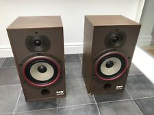 B&W DM110 Bowers and Wilkins Floor Standing Speakers Audiophile England made A1