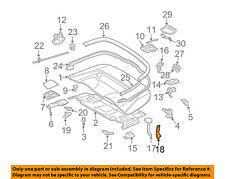 MERCEDES OEM 06-09 CLK350 Convertible/soft Top-Lever Bracket Right 2097570614