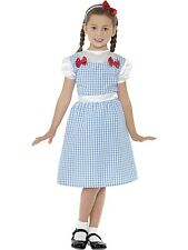 COUNTRY GIRL WIZARD OF OZ DOROTHY GIRLS Small 4 to 6 check DRESS COSTUME movie