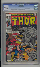 Thor #258 Cgc 9.6 Nm+ Unrestored Marvel Thor vs Grey Gargoyle White Pages