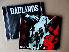MELODIC PUNK CD FIVER DEAL - BADLANDS / EPIC PROBLEM feat mackie of BLITZ
