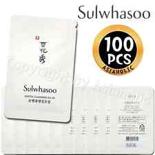 Sulwhasoo Gentle Cleansing Oil EX 4ml x 100pcs (400ml) Probe AMORE Newist Ver