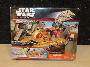 Star Wars The Force Awakens Micro Machines Millennium Falcon Playset Hasbro 2015