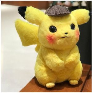 28cm Original Detective Pikachu Plush Toy High Quality Cute Anime Toys Children