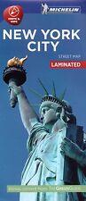 NEW YORK CITY STREET MAP - NEW - CITY MAP - MICHELIN - 2016 - LAMINATED