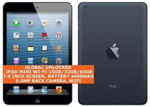 "APPLE IPAD MINI WI-FI 16gb/32gb/64gb Dual-Core 5.0mp Face Detect 7.9"" Ios Tablet"