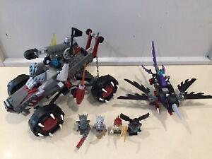 Lego Chima sets 70004: Wakz' Pack Tracker & 70000: Razcal's Glider