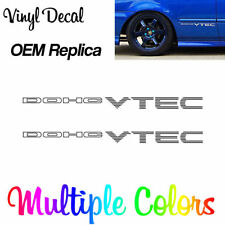 99-00 CIVIC Si DOHC VTEC DECALS | OEM Replica EK9 EJ6 EK4 B16A2 B16 B18 EM1 SiR