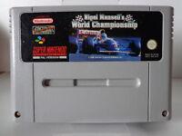 SNES Spiel - Nigel Mansell´s World Championship (PAL) (Modul)