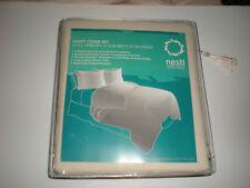 Nestl Bedding Duvet Cover & Pillow Shams 3 Piece Set Cream Color Queen Size New