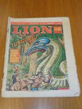 LION 21ST AUGUST 1965 BRITISH WEEKLY COMIC FLEETWAY^