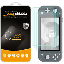 [3-Pack] Supershieldz Tempered Glass Screen Protector for Nintendo Switch Lite