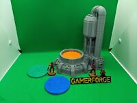 Refiner Tower for 28mm 40k Star Wars Legion Terrain Scenery Tabletop Wargame