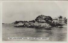 JERSEY : Fort d'Auvergne Hotel, Harvre-des-Pas RP
