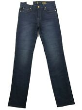7 For All Mankind Women's Jeans Blue Size 29 Kimmie Skinny Stretch $169