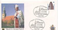 ENVELOPPE VISITE DU PAPE JEAN PAUL II / GERMANY ALLEMAGNE BAD /  1996