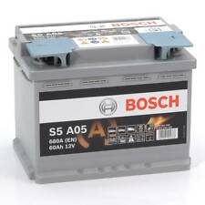 Bosch S5A05 AGM Type 027 Car Battery Audi A1 Citreon DS3 NISSAN Quashqai VW Golf