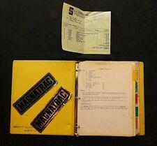 1985 1993 Magnatrack Mt3000 3000 Crawler Loader Tractor Oper Assem Elec Manual