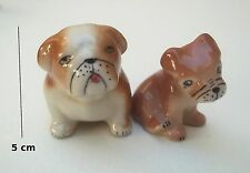 magnifique figurines de chiens porcelaine ,figurine collection, dog, hond S5-L