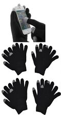 4 Pairs Black Magic Knit Touch Screen iPhone Gloves Texting Gloves New York