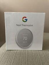 Google Nest Smart Thermostat G4CVZ GA01334-US Snow White Brand New Sealed