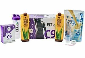 c9 forever living, clean 9,  body cleanse, vanilla shake and original aloe gel