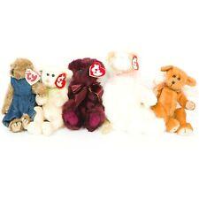 Ty Attic Treasures Lot 5 Cat Bears Beargundy Harper Adelaide Wee Willie Plush