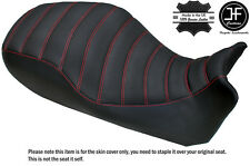 GRIP & CARBON B RED LINE DESIGN CUSTOM DUAL FITS DUCATI DIAVEL LOW SEAT COVER