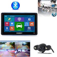 "XGODY 7"" Vehicle GPS Navigation 8GB Bluetooth Free AU Map Wired Rearview Camera"