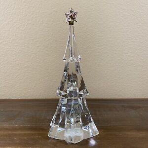 Vintage LENOX Cut CRYSTAL Ball STARLIGHT Christmas Ornament Old Stock MINt in Box!