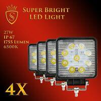 4X 27W LED Arbeitsscheinwerfer Offroad Scheinwerfer 12V 24V für Jeep SUV Bagger