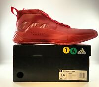 Adidas Dame 5 Shoes Men's Size 14 Red - EE5433