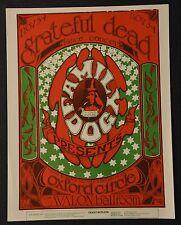 Family Dog FD33 Handbill Grateful Dead Oxford Circle
