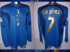 Italy Italia DEL PIERO Shirt Puma Adult XXL Soccer Football Jersey Juventus L/S