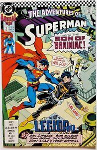 Adventures of Superman Annual #2 (Jul 1990, DC) NM