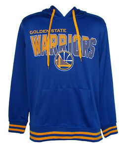 Golden State Warriors Men's Medium Performance Hooded Sweatshirt Team Colors