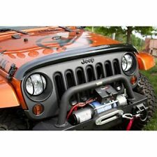 Jeep Wrangler Jk 07-17 New Bug Deflector Smoked X 11350.02