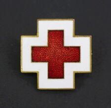 Insignia de esmaltada cruz roja