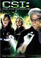 CSI CRIME SCENE INVESTIGATION Complete Twelfth SEASON 12 Series DVD Set Twelve 6