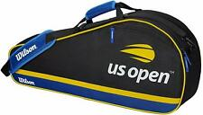Wilson - Wrz612803 - Us Open 3 Pack - Black/Blue/Yellow