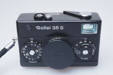 Rollei 35s Kamera Camera with 1:2.8 / 40mm Sonnar lens 35 s black edition RL017