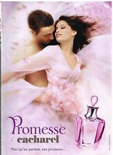 Publicité Advertising 2005 Parfum Promesse par cacharel avec laetitia Casta