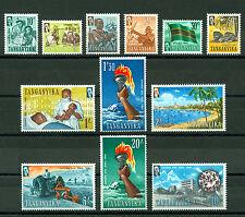Tanganyika 1961, Independence, SG# 108-119, MNH 2704
