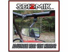 "Seizmik John Deere Gator REAR VIEW MIRROR 1.75"" Steel Clamp HD Wide Angle Lens"