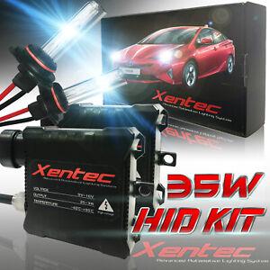 Xentec HID Lighting System Kit Xenon Headlight 2 Light Bulb 2 Ballasts All Color