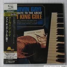 MARVIN GAYE - A Tribute To Great Nat King Cole JAPAN SHM MINI LP CD OBI NEU