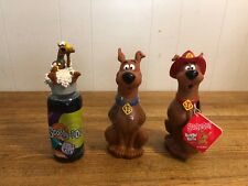 3 Vintage Scooby Doo Bubble Bath One Red One Blue And One On Bubbles Nip