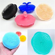 Plum Scalp Massager Anti Dandruff Shampoo Brush Head Hair Loss Prevention Comb.y